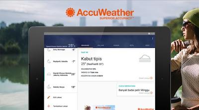 aplikasi accuweather