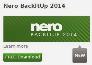 Nero backitup and burn