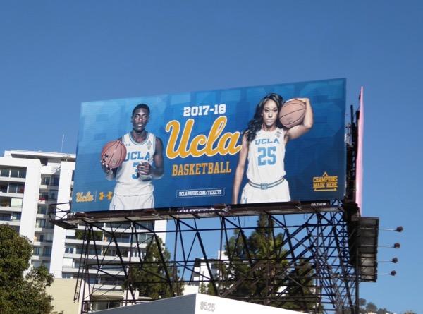 UCLA Basketball billboard