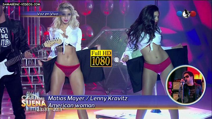 Camila Mendes Ribeiro hot body in lingerie damageinc videos HD