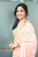 Actress Ritu Varma Pos in Beautiful Pink Anarkali Dress at at Keshava Movie Interview .COM 0065.JPG