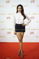 Pragya Jaiswal in lovely Black Mini Skirt and White Transparent Shirt ~  Exclusive 081.JPG
