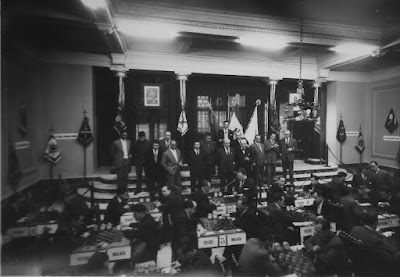IX Campeonato Nacional de Ajedrez de Educación y Descanso disputado en marzo de 1958