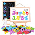 $10.49 (Reg. $20.99) + Free Ship Jumbo Magnetic Letters & Numbers with Wooden Board!