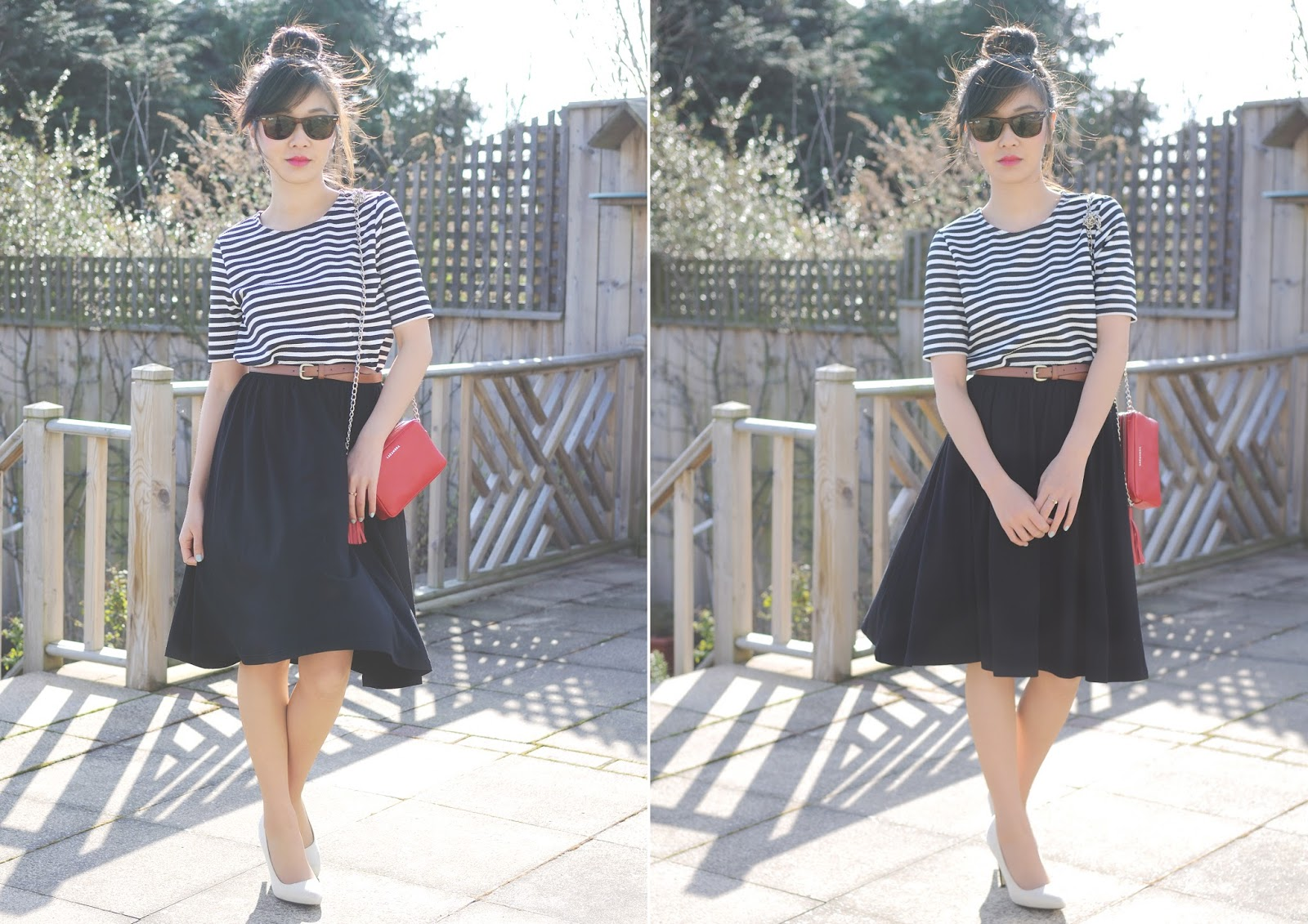 How To Wear: Midi Skirt for Petite Girls (Under 5ft3) | Temporary ...