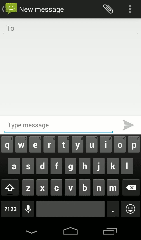 Cara Menampilkan Tombol Enter SMS di Android Kitkat
