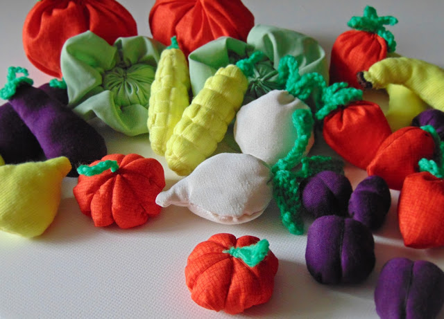 jak uszyć warzywniak z materiału