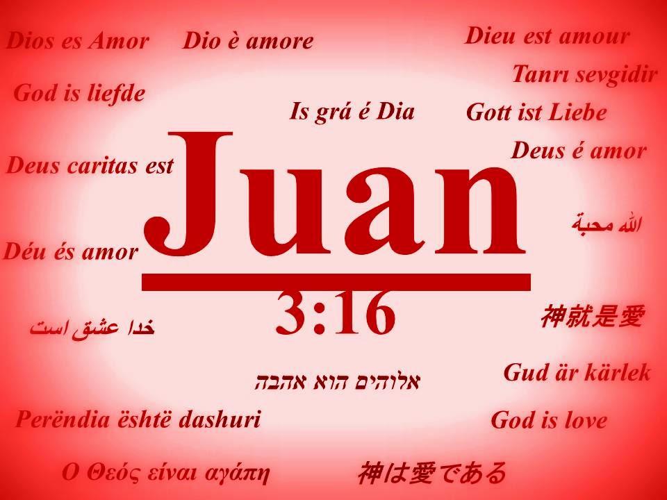 Juan 3:16: Un versículo que expresa el amor de Dios (Juan