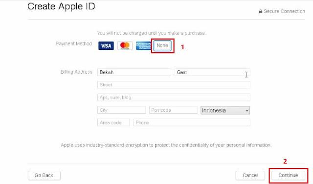 3 Cara Membuat ID Apple Terbaru Tanpa Kartu Kredit Dengan Mudah Via iPhone Dan PC