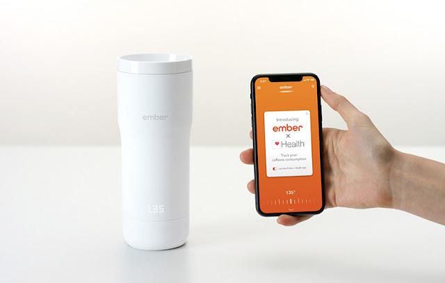 Ember Travel Mug Gets Apple Health Integration