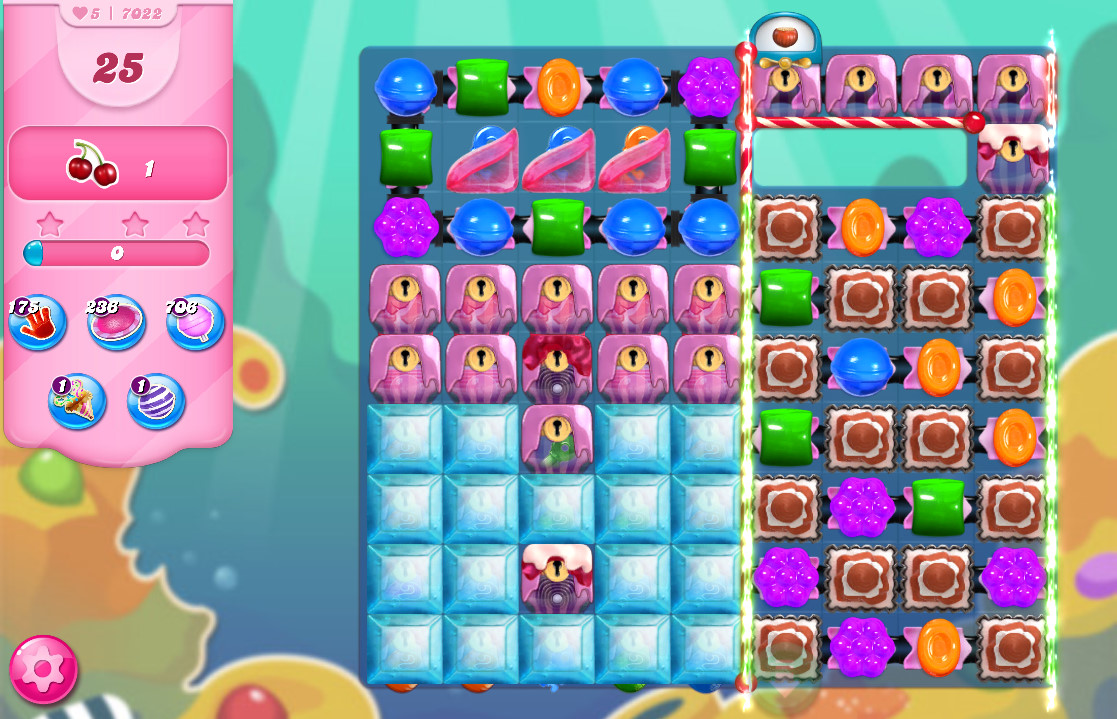 Candy Crush Saga level 7022