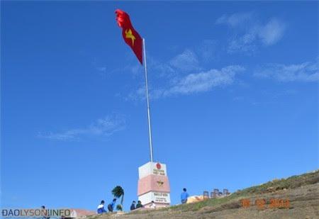 Cột cờ chủ quyền Đảo Lý Sơn - Hình 10
