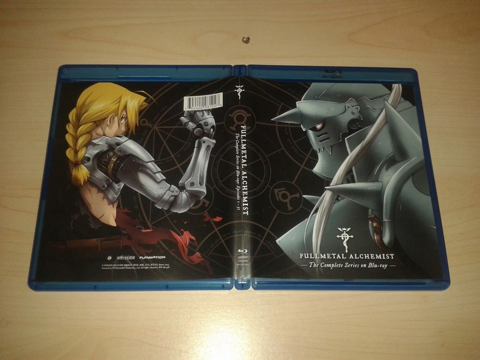 The Normanic Vault: Unboxing US: Fullmetal Alchemist ...