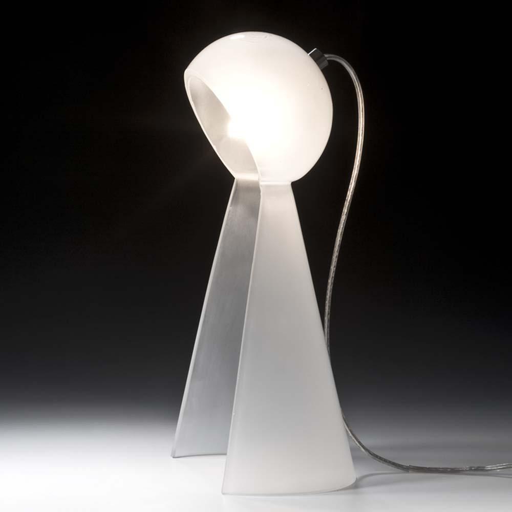 tischleuchten aus glas und kristall designer tischleuchte aus glas pawn. Black Bedroom Furniture Sets. Home Design Ideas