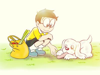 Nobita một anh chàng hậu đậu