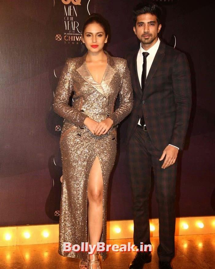 Huma Qureshi, Saqib Saleem, Red Carpet Pics of GQ Men Of The Year Awards 2014