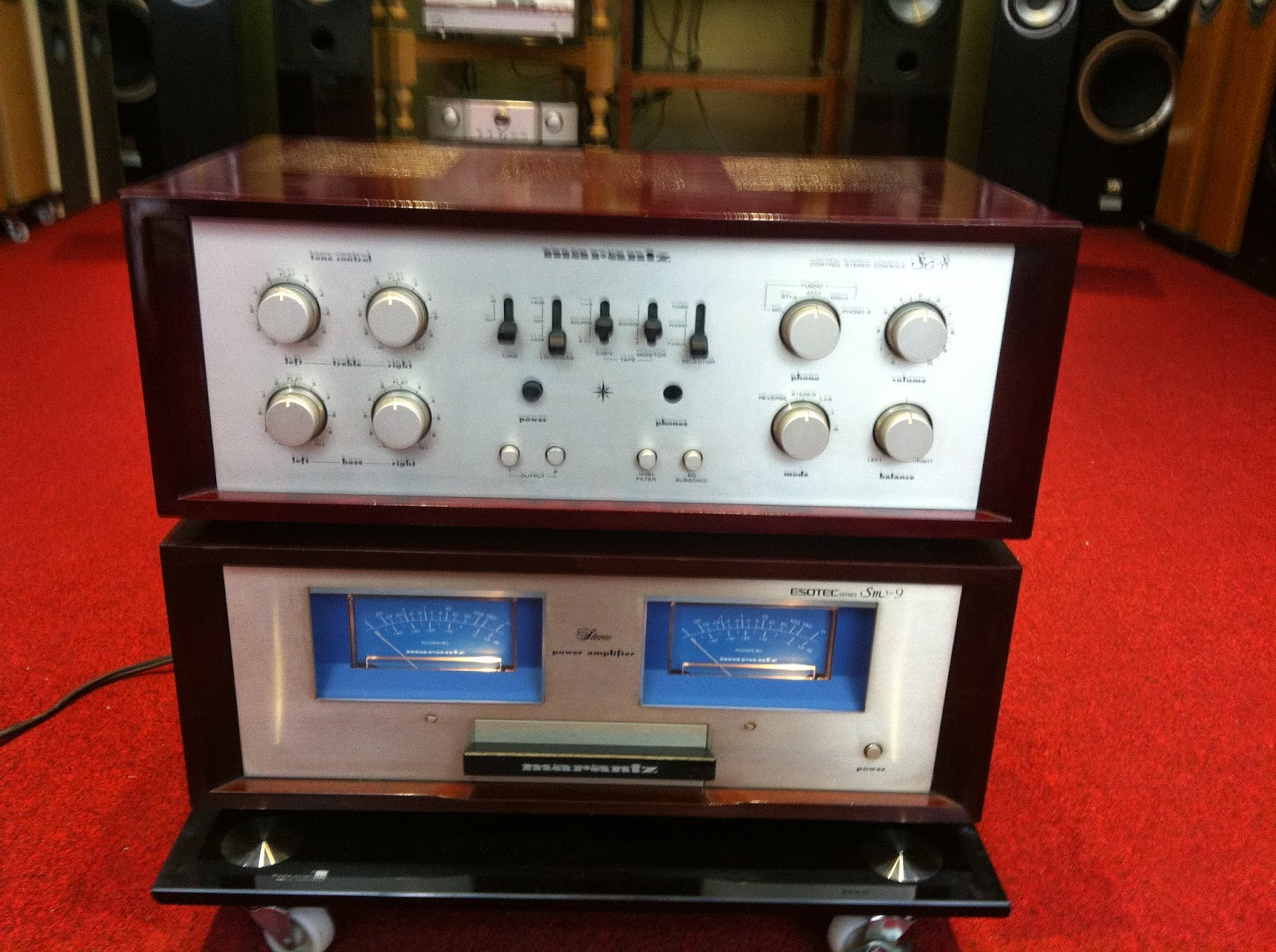 Preamplifier - Power Marantz SM9 - SC8 - Made in Japan