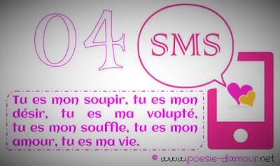 SMS et message d'amour court