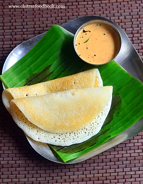 soft dosa recipe