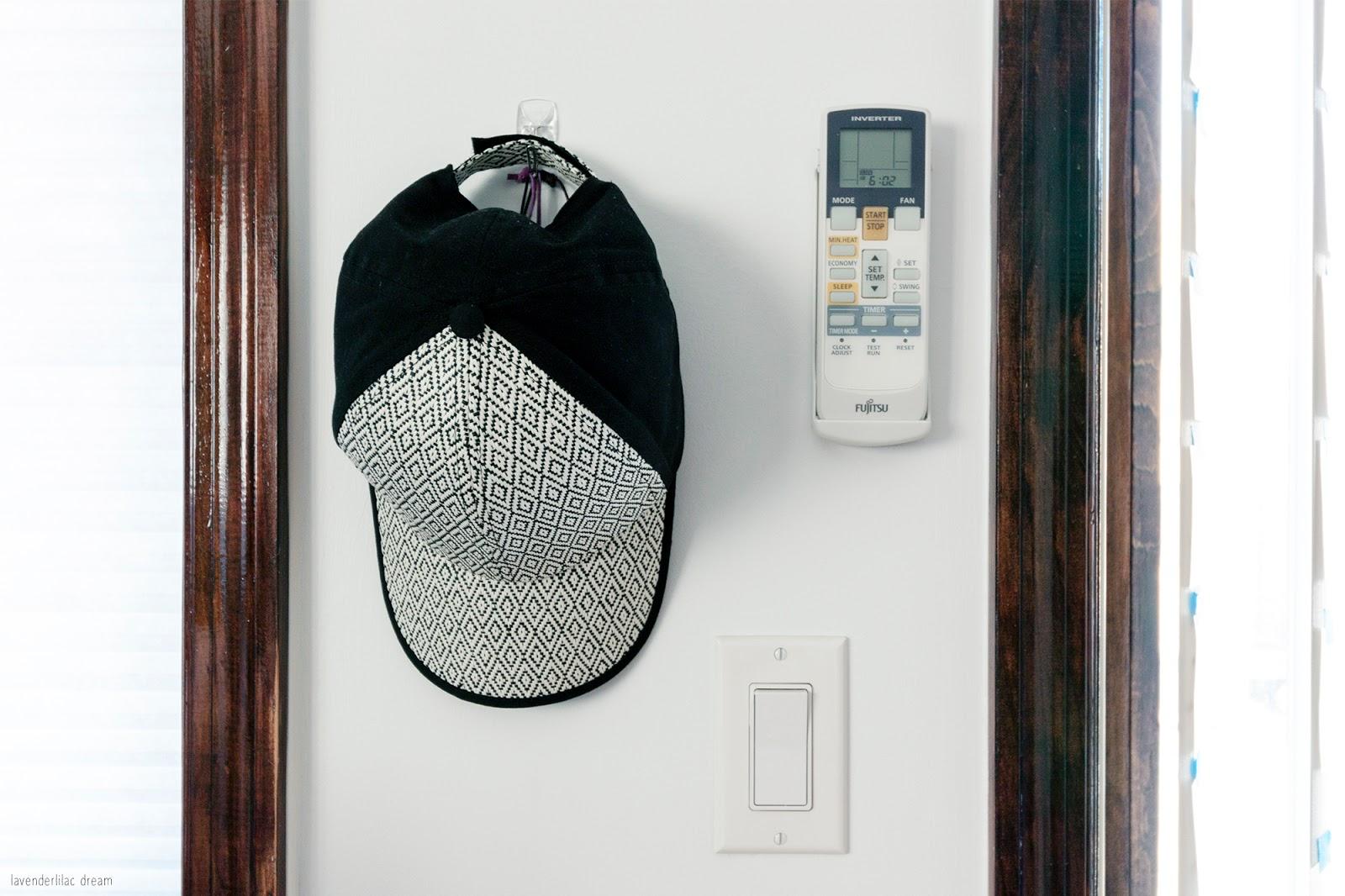 Hat display wall