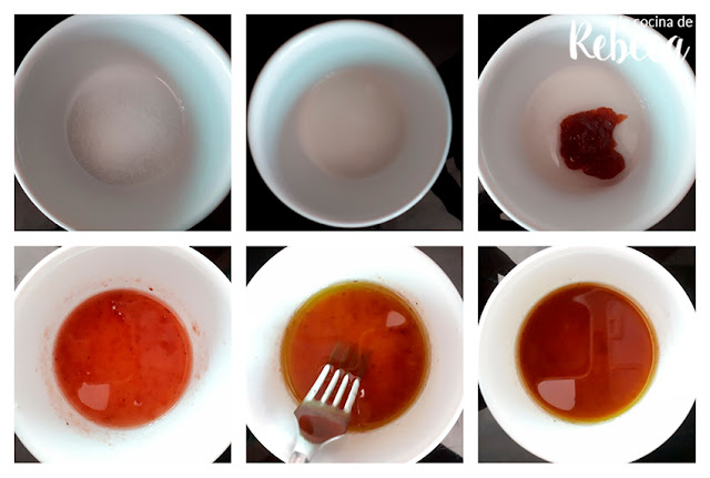 Receta de ensalada de frutos secos y frutas deshidratadas: el aliño