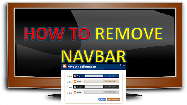 How to Remove Navbar