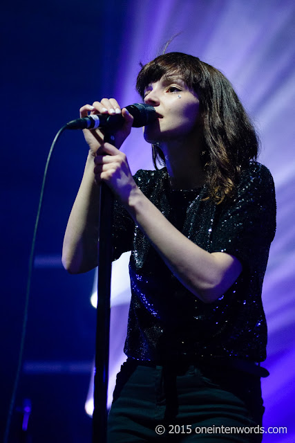 Chvrches at The Danforth Music Hall October 5, 2015 Photo by John at One In Ten Words oneintenwords.com toronto indie alternative music blog concert photography pictures