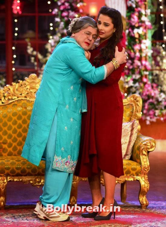 Asgar Ali, Vidya Balan, Bua gets married on Comedy Nights with Kapil