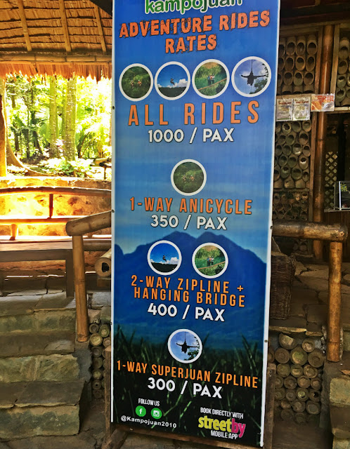 kampoan ride rates and packages