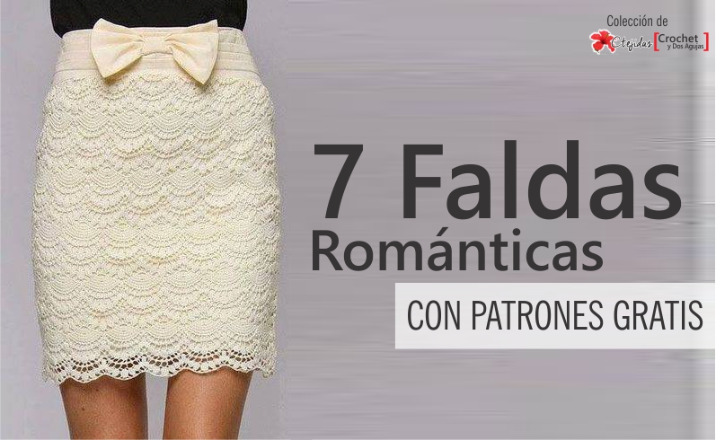 Estas faldas te enamorarán!! Lindas, elegantes y románticas ...