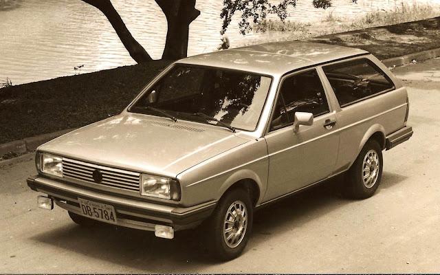 VW Parati 1985
