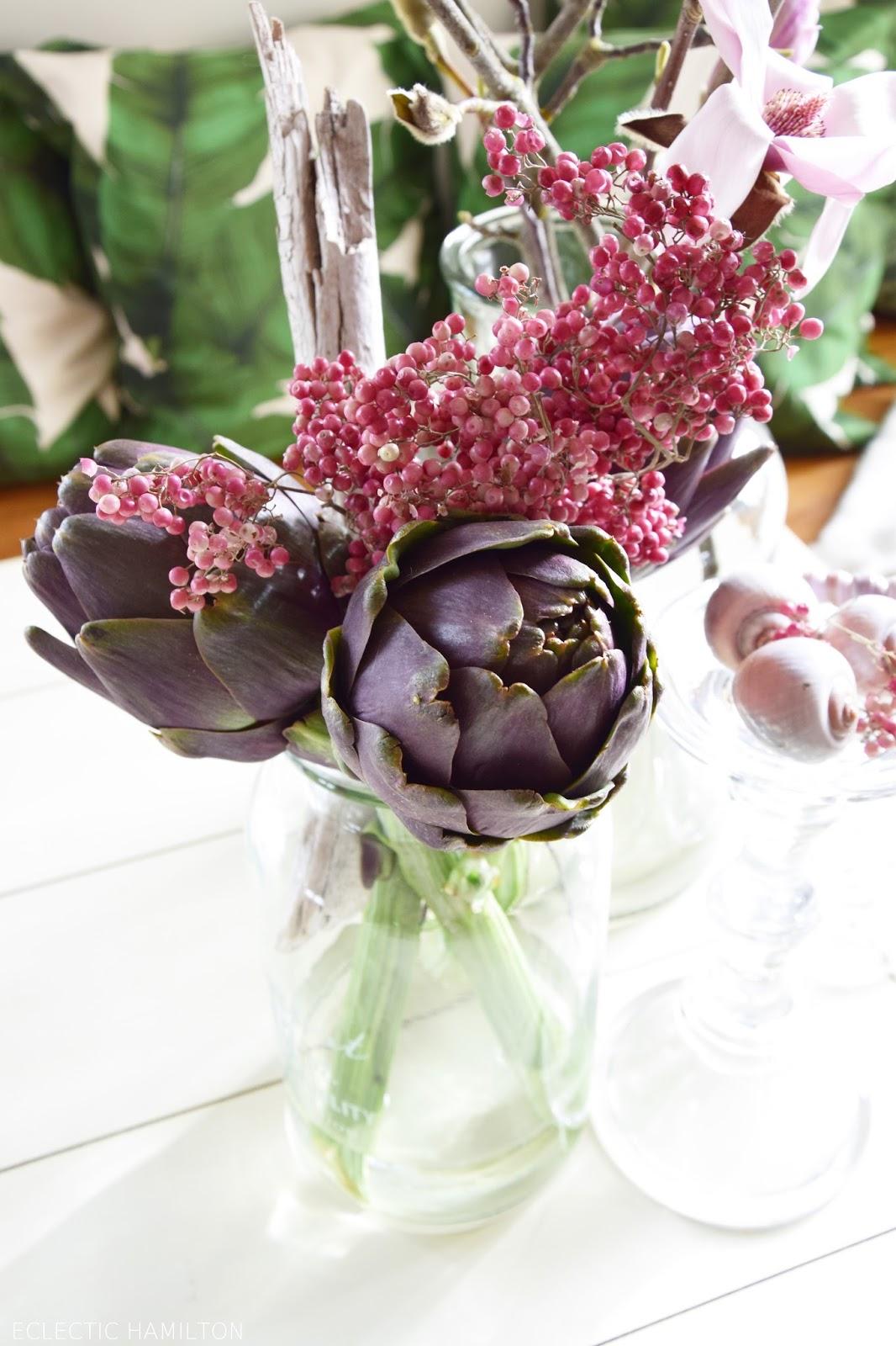 3 Home Decor Trends For Spring Brittany Stager: Kreativ Mit Artischocke ... Mein Neues Deko-Highlight