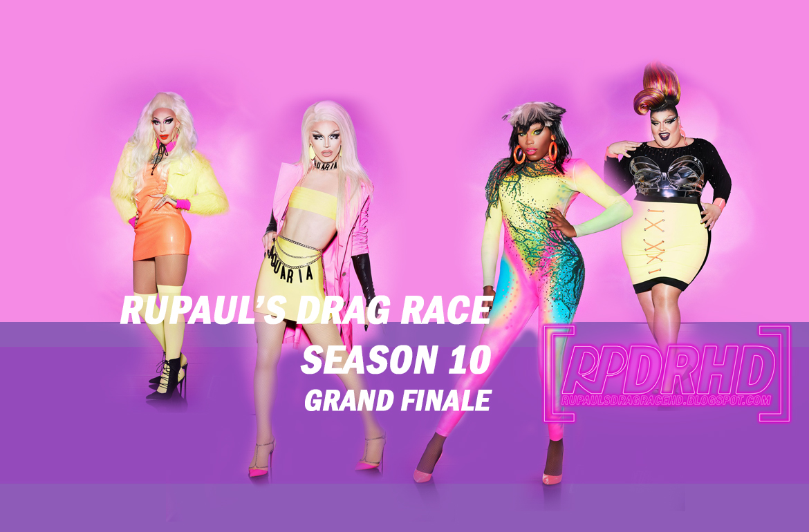 Watch Online, RuPaul's Drag Race, Season 10, Episode 14, Grand Finale (Download Web Rip 1080p and 360p)