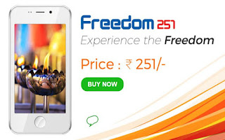 Book NOw Ringing Bells Freedom 251 Rs Phone