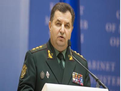 وزير الدفاع الأوكراني, استقالة,