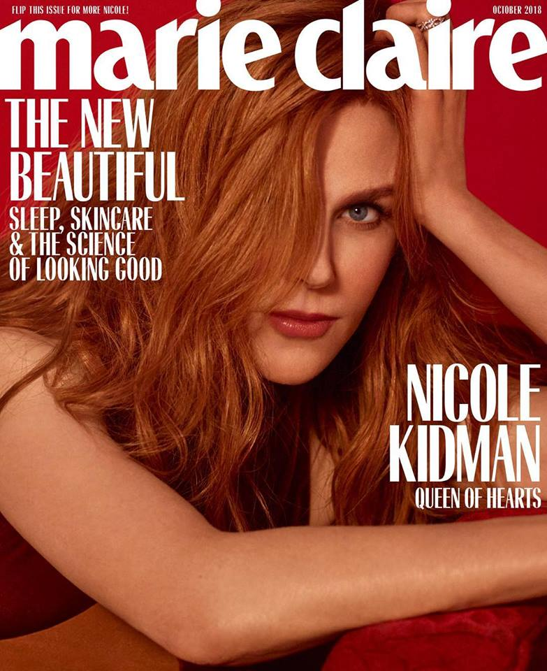 Nicole Kidman for Marie Claire US October 2018