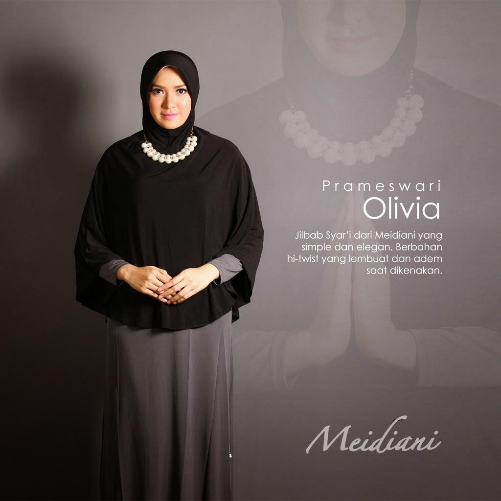 Jilbab Meidiani Praktis Nyaman Modis Jilbab Panjang