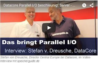 Das bringt Parallel IO:Stefan von Dreusche im Video Interview mit speicherguide