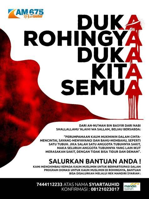 Program Donasi untu k Muslimin Rohingnya