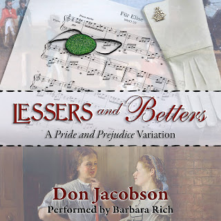 Book cover: Lessers and Betters by Don Jacobson
