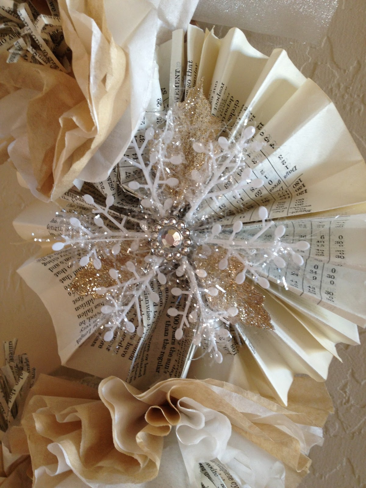Jenkins Kid Farm: Burlap, White, Silver And Gold Christmas