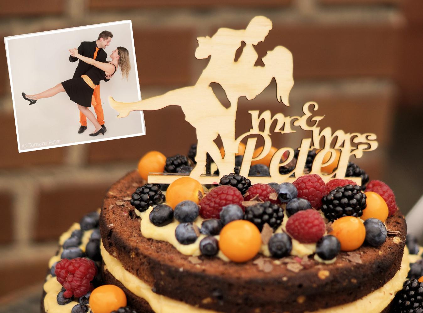 Fotogruesse: DIY: Naked Cake - Hochzeitstorte selber backen