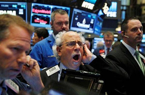 Падение Dow Jones