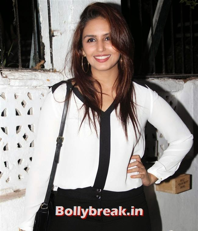 Huma Qureshi, Neha Sharma, Huma Qureshi at Filmfare After Party of Aarif Sheikh