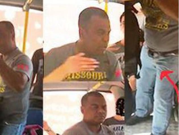 MPE/AL pede prisão preventiva de homem que praticou ato obsceno dentro de ônibus, em Maceió