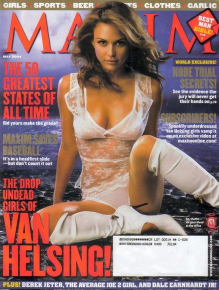 Josie Maran on MAXIM Magazine!