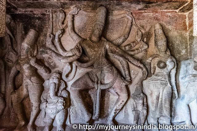 Aihole Ravalaphadi Cave Temple