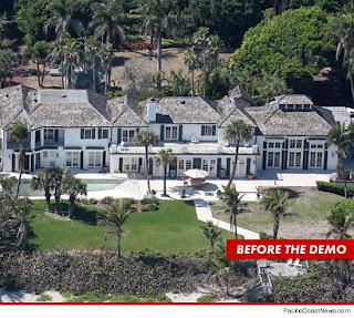 Elin Nordegren derrumba mansion de 12 millones de dolares ...