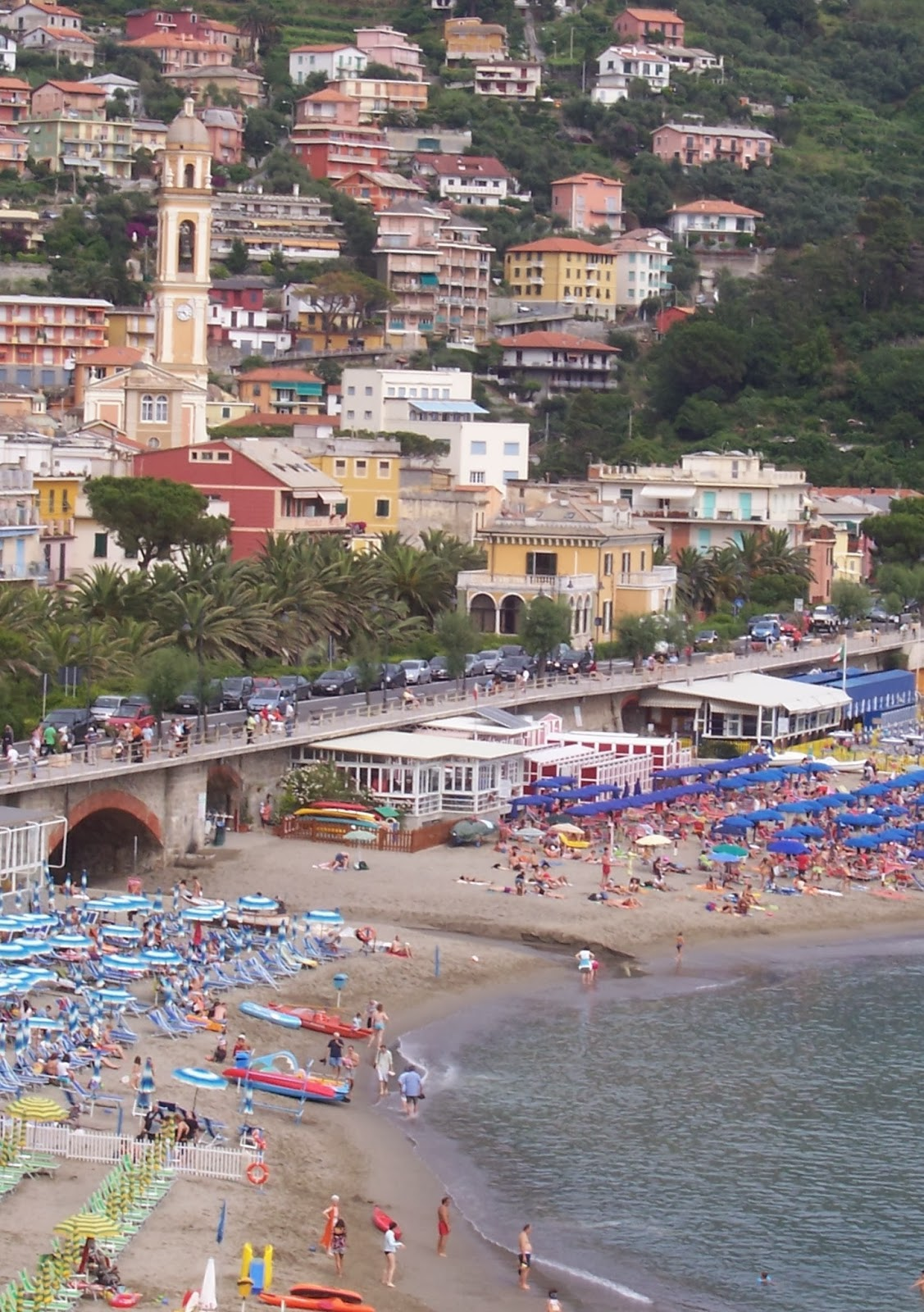 Moneglia Beach Liguria