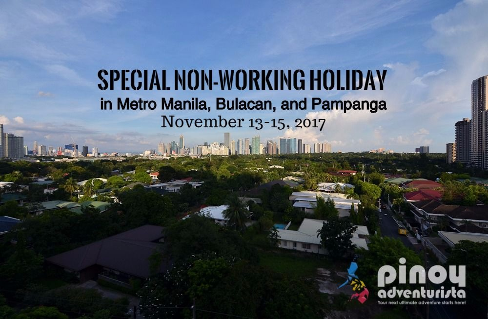 IT'S OFFICIAL! Special (Non-Working) Holiday in Metro Manila